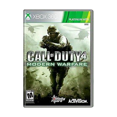 Jogo Call of Duty 4: Modern Warfare - Xbox 360