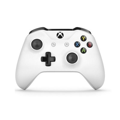 Controle Xbox One S Sem Fio Branco - Microsoft