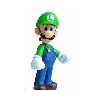 Boneco Colecionável Super Mario - Luigi