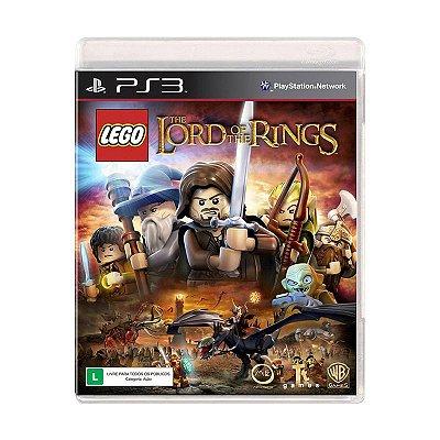 Jogo Lego O Senhor dos Aneis - PS3