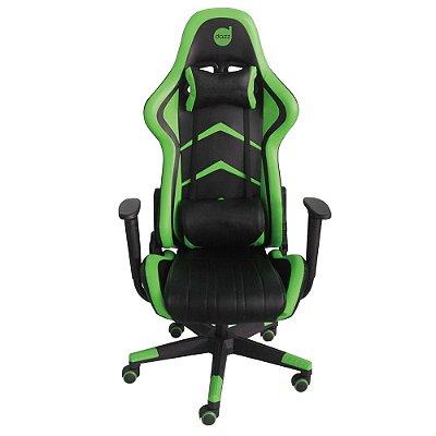 Cadeira Gamer Prime Green 62-471-9 - Dazz