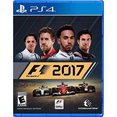 Jogo Formula 1 2017 (F1 2017) - PS4