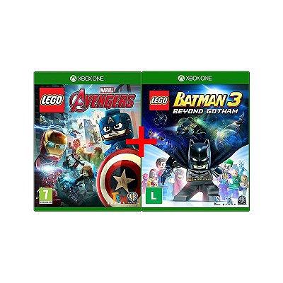 Jogos Lego Marvel Vingadores + Lego Batman 3: Beyond Gotham - Xbox One