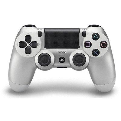 Controle Dualshock 4 PS4 Prata - Sony