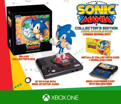 Jogo Sonic Mania (Collectors Edition) - Xbox One
