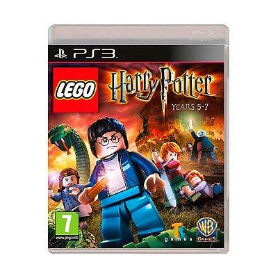 Jogo Lego Harry Potter: Years 5-7 - PS3