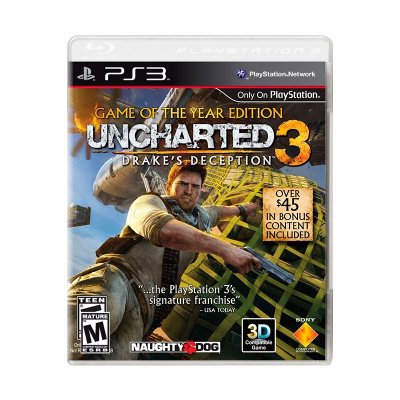 Jogo Uncharted 3: Drake's Deception (GOTY) - PS3