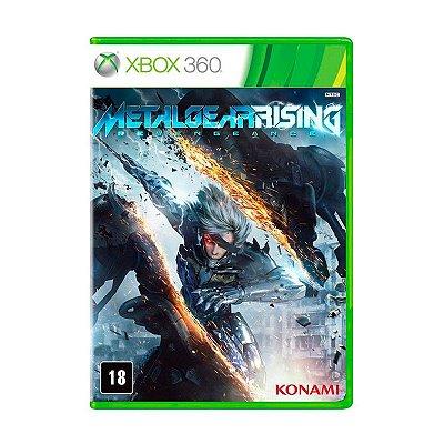 Jogo Metal Gear Rising: Revengeance - Xbox 360