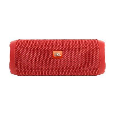 Caixa de Som Bluetooth JBL Flip 4 Bluetooth - Vermelho