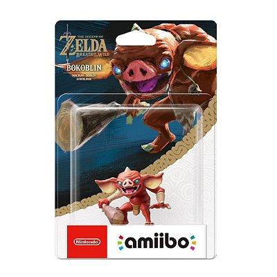 Nintendo Amiibo: Bokoblin - The Legend of Zelda: Breath of the Wild - Wii U, New Nintendo 3DS e Nintendo Switch