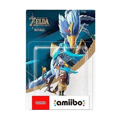 Nintendo Amiibo: Revali - The Legend of Zelda: Breath of the Wild - Wii U, New Nintendo 3DS e Nintendo Switch