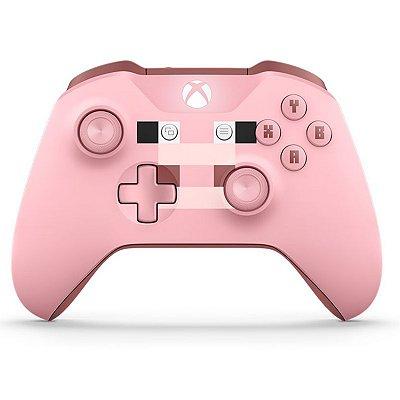 Controle Xbox One - Minecraft Pig (Porco) sem fio