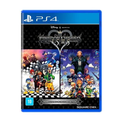 RPG Jogo Kingdom Hearts 1.5 + 2.5 Remix - PS4