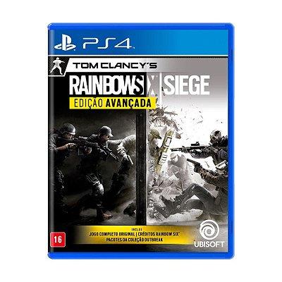 Jogo Tom Clancy's: Rainbow Six Siege Edição Avançada - PS4