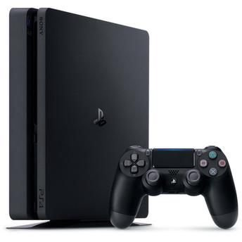 Console PlayStation 4 Slim 500GB + 4 Jogos + 3 Meses Plus - Sony