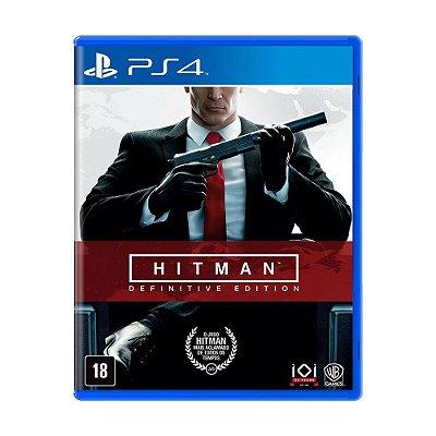 Jogo Hitman: Definitive Edition - PS4