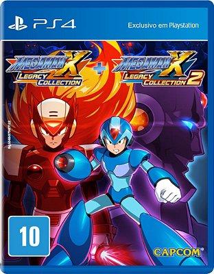 Jogo Mega Man X Legacy Collection 1 + 2 - PS4