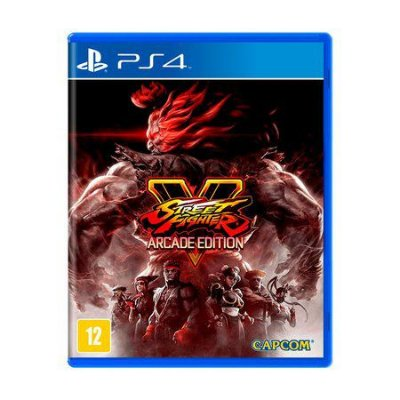 Jogo Street Fighter V (Arcade Edition) - PS4