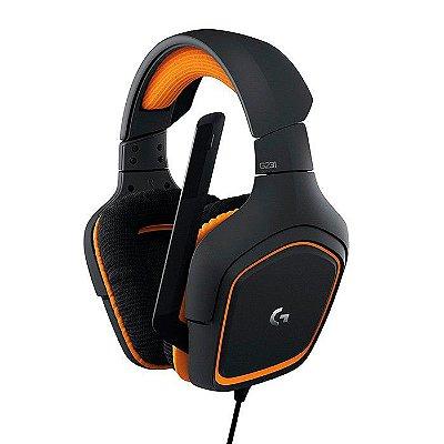 Headset Gamer Logitech G231 com fio - PS4 - Xbox One - PC