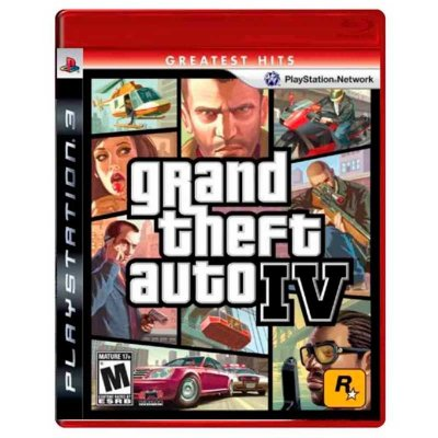 Jogo Grand Theft Auto IV (GTA 4) - PS3