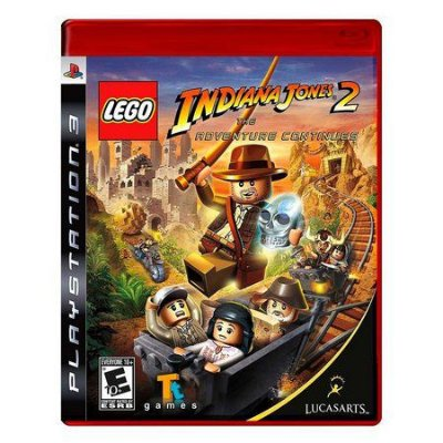 Jogo LEGO Indiana Jones: The Original Adventures - PS3