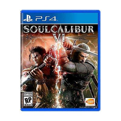 Jogo SoulCalibur VI - PS4 - (Pré-venda)