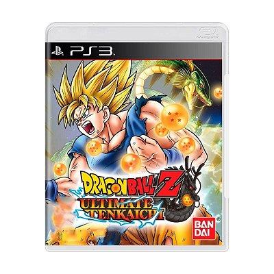 Jogo Dragon Ball Z: Ultimate Tenkaichi - PS3