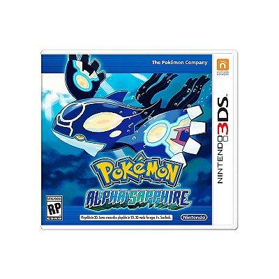 Jogo Pokémon Alpha Sapphire - 3DS