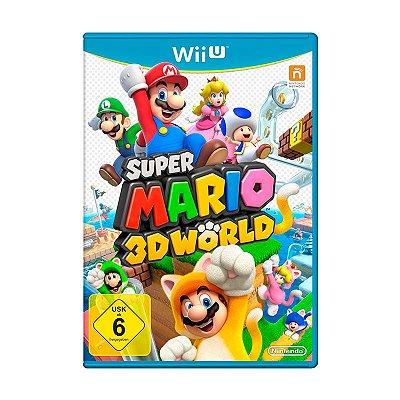 Jogo Super Mario 3D World - Wii U