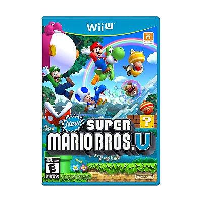 Jogo New Super Mario Bros. U - Wii U