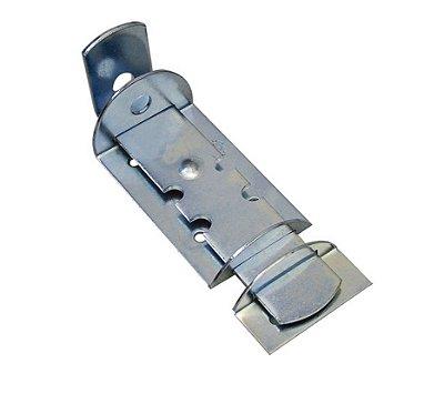 Ferrolho 18 cm Tranca Tramela Trinco Porta Portão Madeira Ferro Duas Unidades