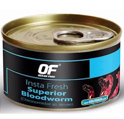 Ocean Free Insta Fresh Superior Bloodworms 100g