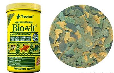 Ração Tropical Bio-Vit para peixes herbívoros