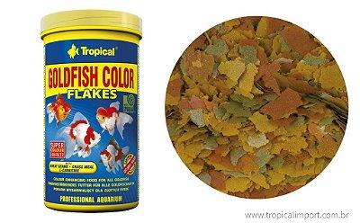 Ração Tropical Gold Fish Color flakes