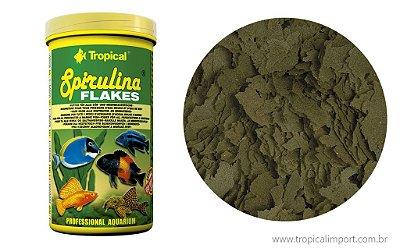 Ração Tropical Spirulina Flakes