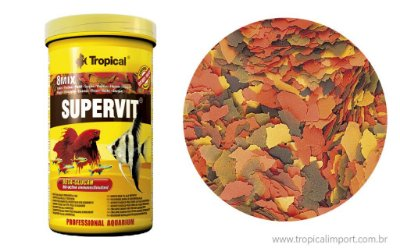 Ração Tropical Supervit Flakes