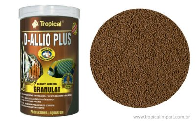 Ração tropical D-Allio Plus granulat