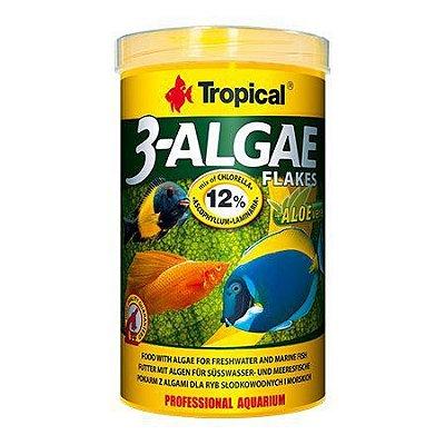 Ração Tropical 3-Algae Flakes