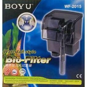 Filtro externo para aquário Boyu WF-2015 110v 150L/H