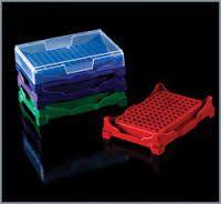 Rack para trabalho com PCR  96 poços  abdos P11102 cx com 5 pcs