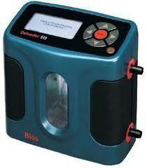 calibrador de fluxo para bomba de amostragem