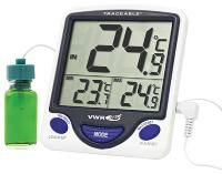 Termómetros digitais, display tripartido, Traceable® - VWR