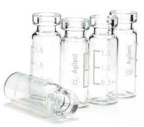 VIAL INCOLOR 2 ml  ref. 5181-3375 AGILENT - CX 100 un.