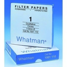 PAPEL FILTRO Nº02 150 mm - WHATMAN ref. 1002-150 CX. 100 un. - FILTER PAPER