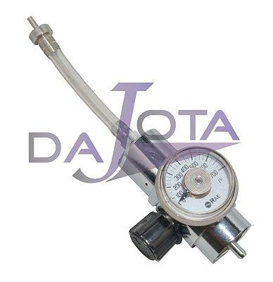 Válvula de cilindro para calibração, corpo em aço inox. Marca: RAE Systems - 002-3011-000
