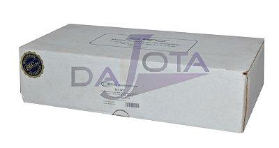 Filtro MCE, 0,8 mm, 25 mm, para a amostragem de amianto, pré-carregado em polipropileno preto,  cassete condutor preenchido de carbono,  para análise PCM . Pct. com 50 unidades