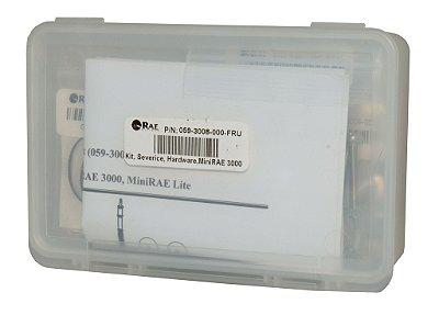 Kit para manutenção de MultiRAE e ppbRAE - Anéis de vedação, parafusos, filtro com poro de metal, o-rings, etc.