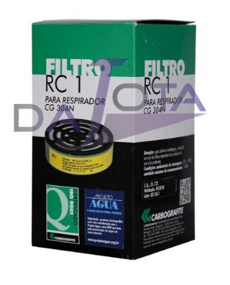 FILTRO RC-1 PARA RESPIRADOR CG-304N