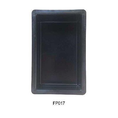 Forma Plástica Retangular Lisa Bloquete 25x15x8cm - FP017