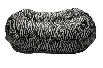 Puff Pufe Puf Duplo 1,40m Sala Quarto Animal Print Zebra